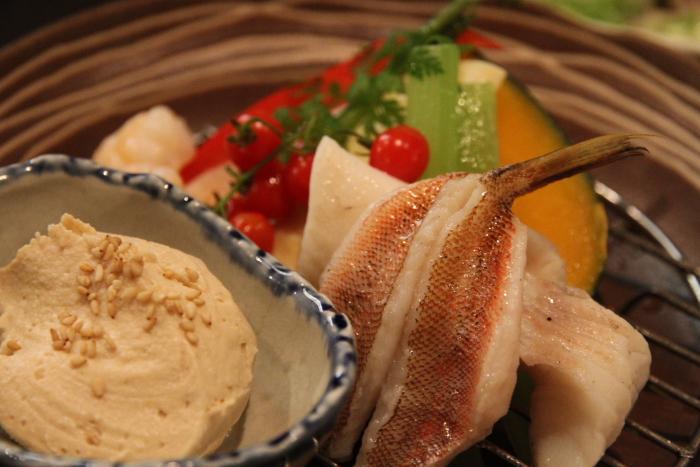 海鮮温野菜サラダ